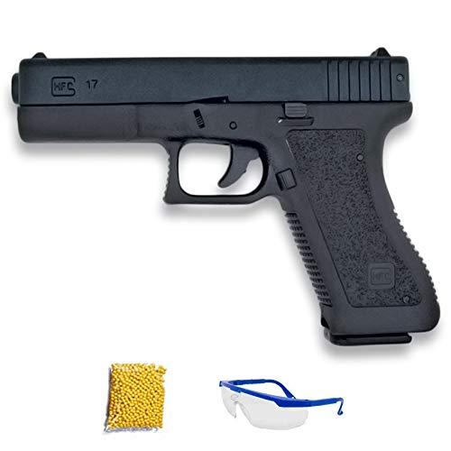 HFC HA-117 NEGRA .Pistola de Airsoft Calibre 6mm (Arma Aire Suave de Bolas de plástico o PVC). Sistema: Muelle. <3,5J