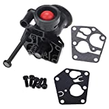 Fdit Carburador para carburador de Metal para cortacésped Briggs & Stratton 499809 498809A 494406