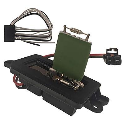 HVAC Blower Motor Control Module Resistor 15-81086 fits Chevroleet Chevy Avalanche Silverado Suburban 1500 2500 3500 Tahoe GMC Sierra 1500 2500 Yukon XL Manual AC Controls 2003-2006