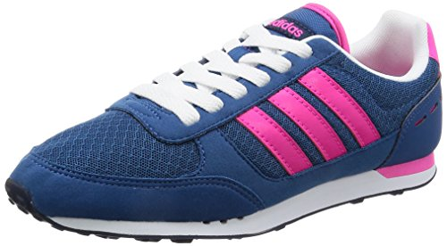 adidas City Racer W - Zapatillas Deportivas para Mujer, Azul - (Azubas/Rosimp/Azumis) 36 2/3