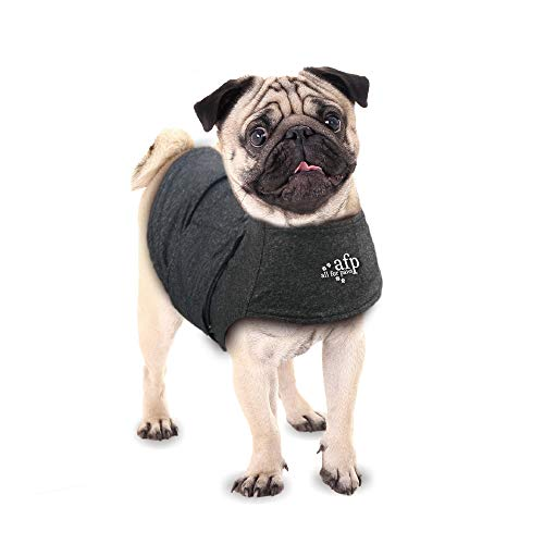 ALL FOR PAWS Adjustable Dog Anxiety Jacket-Anti Anxiety With Heart Beat And Stress Relief Calming Coat Functional Dog Clothes Dog Heart Beat Anxiety Calming Wrap for Dog(S)