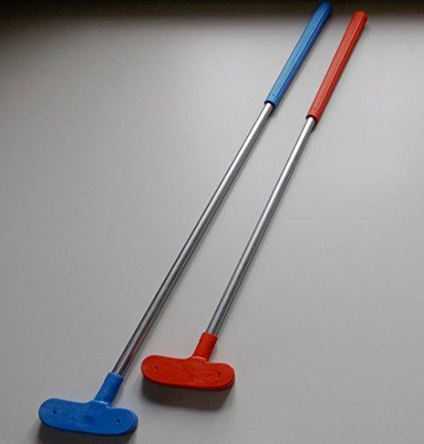 10palos de mini golf variados para niños, en 70cm + 80cm