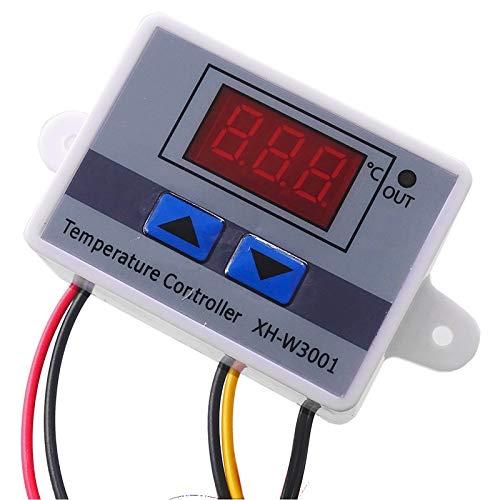 DIYARTS Controlador de Temperatura Digital Módulo de Control de Temperatura de Alta precisión Refrigeración Calefacción Tablero de Interruptor automático