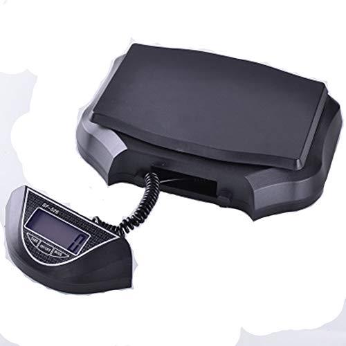 QXM Afneembare mobiele achtergrondverlichting display elektronische weegschaal 30 kg hoge precisie keukenweegschaal, zwart