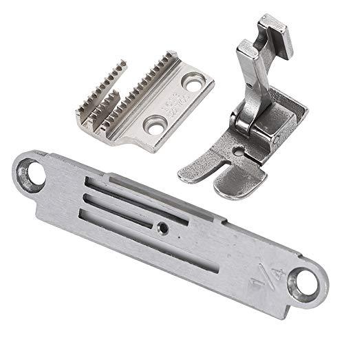 Redxiao Kit de prensatelas de Placa de Pasador, Juego de Placa de Pasador de máquina de Coser Profesional de 0,6 cm / 0,2 Pulgadas, Accesorios de máquina de Coser para máquina de Coser Zoj