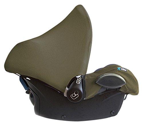 sibble Maxi Cosi Sonnenverdeck für CabrioFix, Citi und Pebble, Olive Grün