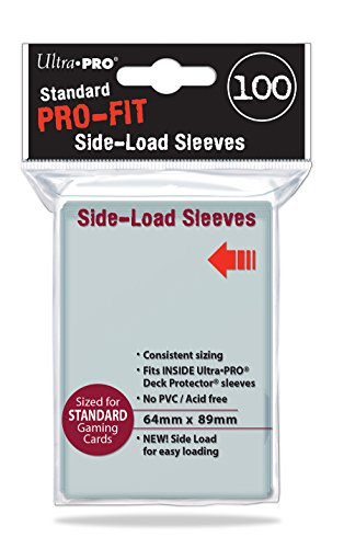 100 Ultra Pro Pro-Fit Standard Side Load Deck Protectors - Inner Sleeves 84649