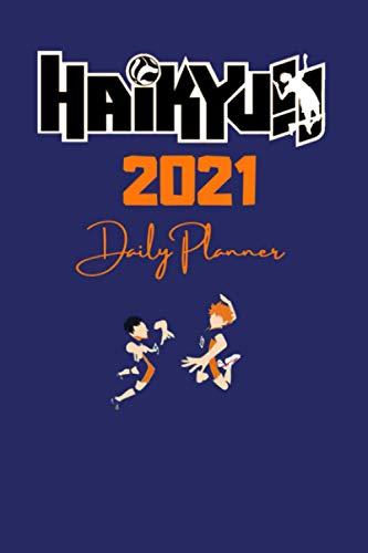 2021 HAIKYUU DAILY PLANNER – English Edition – (6 x 9 inches) Calendar / Diary / Journal