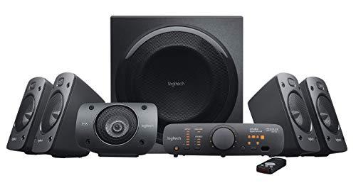 Logitech Z906 5.1 Surround Sound Speaker System - THX, Dolby Digital and DTS Digital (Renewed)