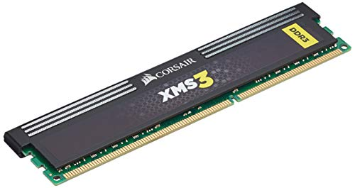 Corsair CMX16GX3M2A1333C9 XMS3 16GB (2x8GB) DDR3 1333 Mhz CL9 Performance Desktop Memory