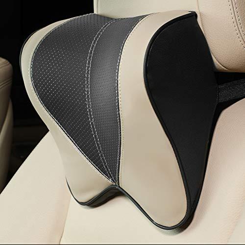 XuBa zitkussen van polyurethaan voor auto, zitkussen van katoen Eén maat Repose-tête noir beige