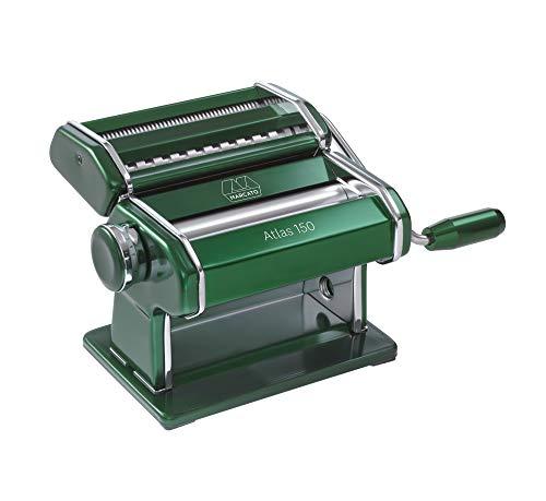 Atlas 150 Color - Máquina para Hacer Pasta, Color Verde