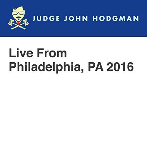 Live From Philadelphia, PA 2016 audiobook cover art