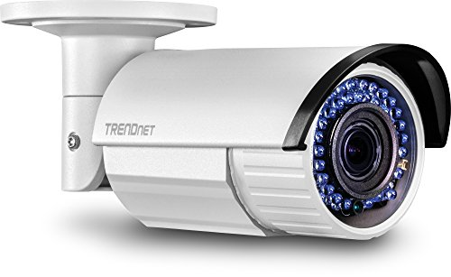 Trendnet Dome Network Camera Outdoor 2 MP, dag/nachtcamera. zilver