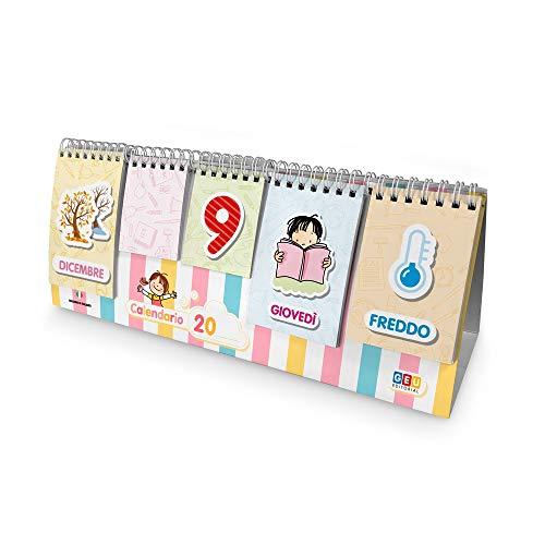 Editorial GEU Calendario per Bambini: Il Mio Primo Calendario | Interattivo e Divertente...