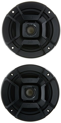 "Polk Audio DB522 DB+ Series 5.25"" Coaxial Speakers with Marine Certification, Black"