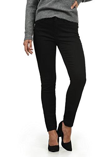 VERO MODA Diamant Damen Jeans Denim Hose Strech Mid-Rise, Farbe:Black, Größe:S/ L32