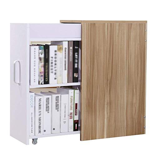 LQH Cajón con Puerta Librero pequeño Armario, Disponible en una Variedad de Colores, G (Color : D)