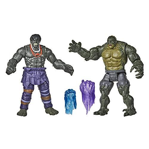 Avengers - Hulk Contro Abomination (Confezione da 2 Action Figure 15 cm, Serie Gamerverse Ispirata al Videogioco Avengers)