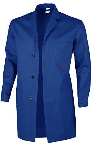 Berufsmantel Arbeitskittel Blaumann 100 % Baumwolle - mehrere Farben - 54,Kornblau