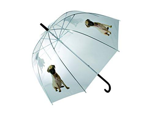 Sonstige Ombrello 80 Centimetri Pug Cane Trasparente