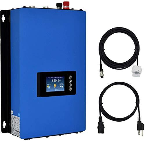 Y&H 1000W Grid Tie Inverter Power Limiter DC25-60V Solar Input AC110V/240V Auto Switch