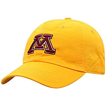 Top of the World Minnesota Golden Gophers Men s Relaxed Fit Adjustable Hat Secondary Team Color Icon Adjustable