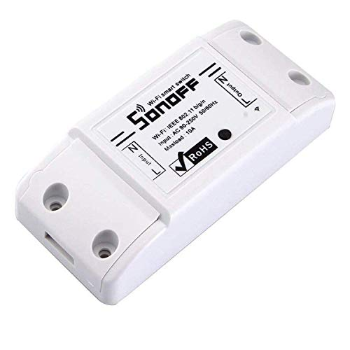 Sonoff Basic R2 Universal Smart Schalter WiFi Fernbedienung Smart Home Switch mit Timer DIY Funkschalter über IOS Android 10A / 2200W