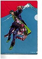 荒木飛呂彦原画展 JOJO-冒険の波紋 ローソン限定 B5クリアファイル 3枚セット A