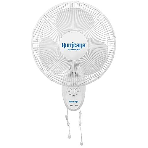 Hurricane HGC736500 Wall Mount Fan-12 Inch,...