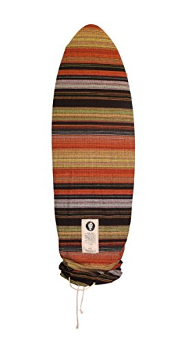 Orange Surfboard Bag/Surfboard Sock Cover Travel Bag, Handmade! Best Surf Accessory! Orange 10'0 Longboard (Good for Egg, Simmons, Noserider, Funboard, Longboards, and More!)
