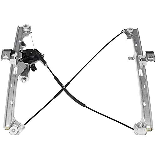 Front Driver Side Power Window Regulator w 741-644/Motor Compatible for Chevrolet Silverado 1500 2500 3500 Tahoe GMC Sierra Yukon XL Cadillac Escalade Pickup SUV