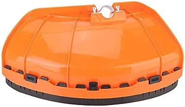 TOPINCN Universal Brush Cutter Shield Lawn Mower Guard Lightweight Plastic Grass Trimmer Blade Proctecter Cover for 26mm/28mm Dia. Shaft