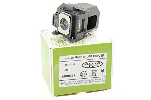 Alda PQ-Premium, Beamerlampe / Ersatzlampe für EPSON 460, 450W, BRIGHTLINK 450WI, BRIGHTLINK 455WI, BRIGHTLINK 455WI-T, EB-440W, EB-450W, EB-450WE, EB-450WI Projektoren, Lampe mit Gehäuse