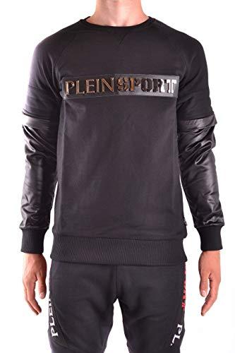 Philipp Plein Luxury Fashion Herren MJO0069SJO001N02K Schwarz Baumwolle Sweatshirt | Frühling Sommer 20