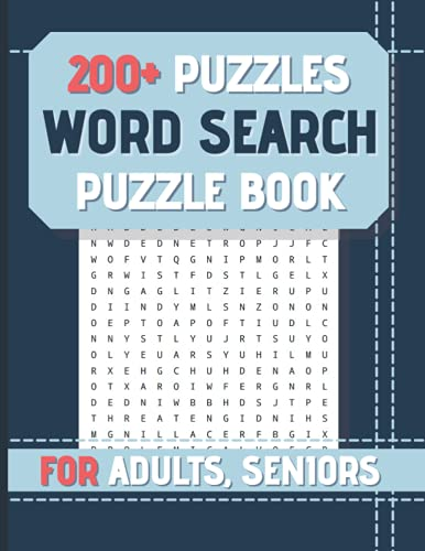 Compare Textbook Prices for Word Search for Adults and Seniors: Over 200 Puzzles | Large Print Word Search Book with Word Find Puzzles for Seniors, Adults, Elderly and all other ... Gift | Exercise Memory & Brain Game  ISBN 9798541530667 by GameCO, ActivPress