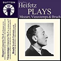 Jascha Heifetz Plays Violin Concertos by Mozart