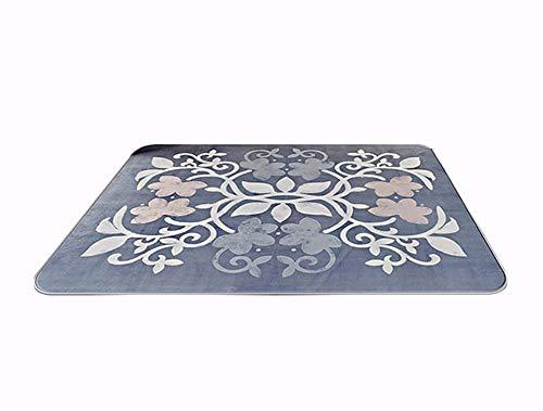 Woonkamer tapijt antislip tapijt kruipmat kinderkamer deken yoga mat eenvoudige moderne woonkamer slaapkamer bed deken anti-slip machine wassen bloem rotan mat