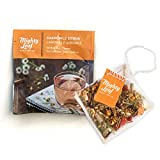 Mighty Leaf Tea Chamomile Citrus Tea Pouches, 100ct Herbal Tea Bags in Individual Foil Packs