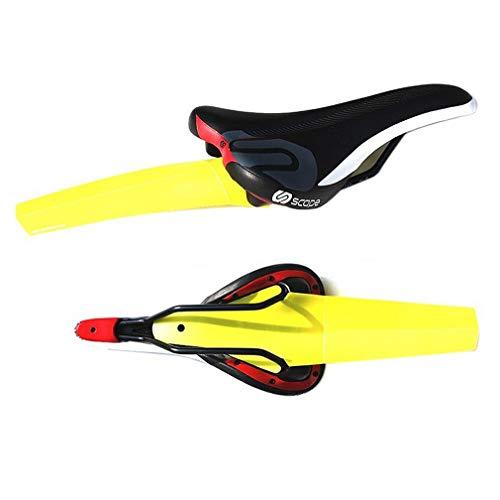 Xrten Fahrrad Sattel Schutzblech,Faltbar Schutzblech Fahrrad Fender für Rennrad MTB