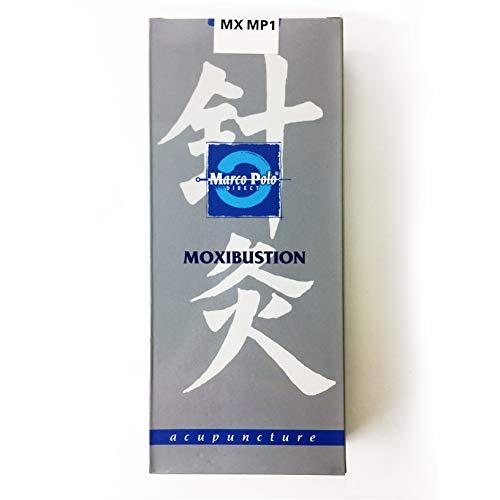 Moxas Chinois d'Armoise Pure - Moxa pour le corps et lacupuncture - PROPOSNATURE - Gris - 10 Unités - sans fumée et inodores - Fabriqué en France