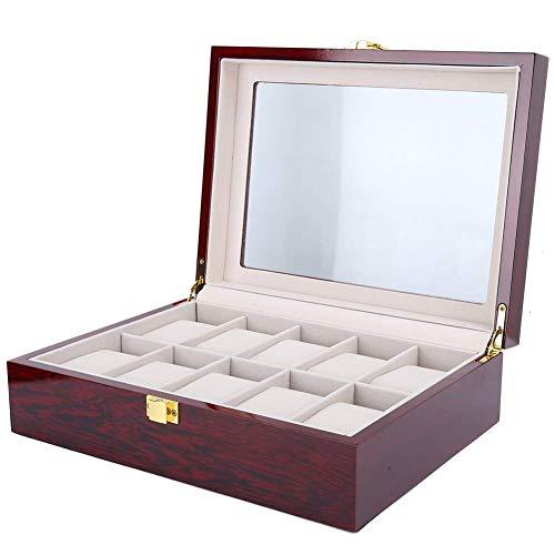 Cosiki 【Regalo de Abril】 Organizador de joyería para Hombre, Estuches para Relojes,...