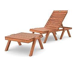 Acheter un bain de soleil (chaise longue) en bois - Test ...