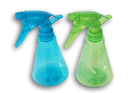 Greenbrier International botella de spray de plástico, 10 onzas, 2 unidades, los colores varían