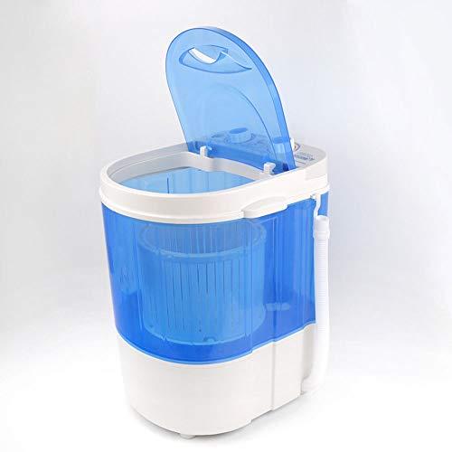 YALIXI Mini Lavadora Portátil,Pequeño Secador De Barril Simple,Máquina De Calcetines De Deshidratación Spin-Dry para Bebés,para Acampar Jardín Al Aire Libre Secador Rotatorio