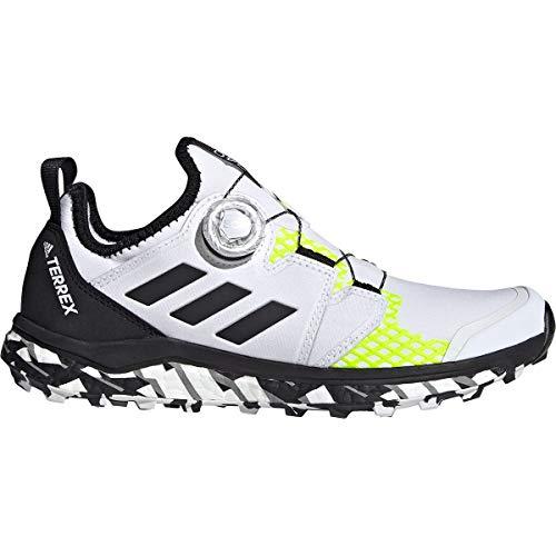 adidas Terrex Agravic Boa W, Zapatillas de Trail Running Mujer, FTWBLA/NEGBÁS/Amasol, 39 1/3 EU