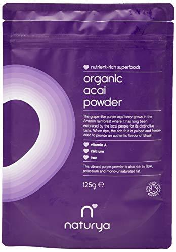 Naturya Organic Acai Powder, 125g
