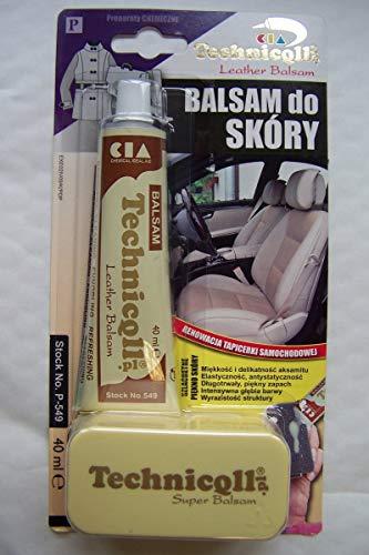Balsam für Renovierungs Reinigung Leder Auto Polster Schuhe Sofas Stühle Sitze 40ml NEU