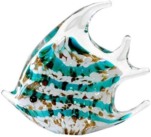 KUPR Ornament Figur Skulptur Dekoration Esstisch Dekoration Aquarium Dekoration Exquisite Glas Fisch handgefertigten Tisch