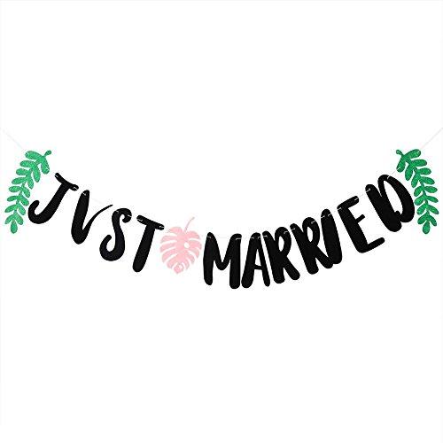 Zerodis Bruiloftsdecoratie, bladeren, slinger, band, hangende achtergrond voor bruiloft, feest, decoratie #2